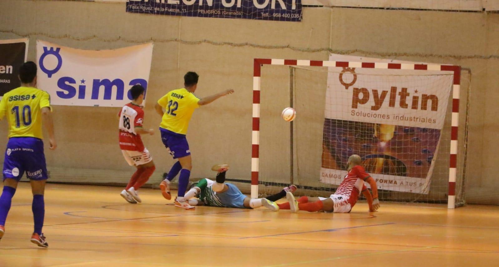 12ª jornada | SIMA Peligros Fútbol Sala 3-4 Cádiz C.F. Virgili