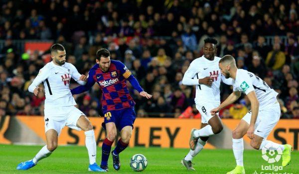 El Granada se queda sin recompensa en el Camp Nou