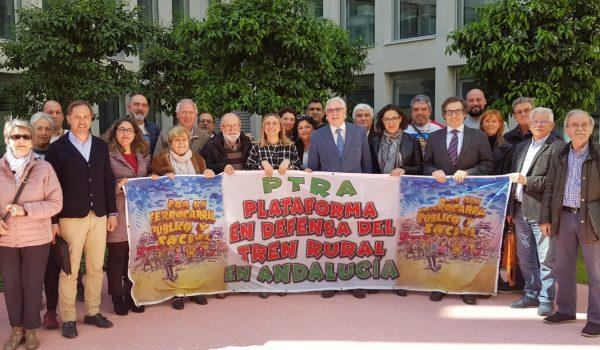 Marifrán Carazo solicita revisión del mapa ferroviario andaluz