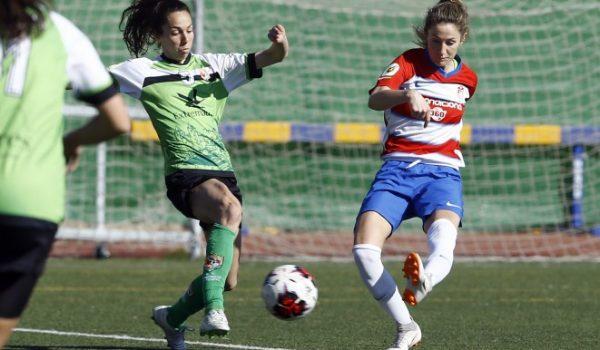 El Granada Femenino logra una victoria de equipo ante un gran Málaga CF