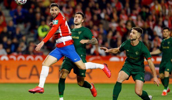 El Granada cae con honores y se despide de una histórica Copa del Rey